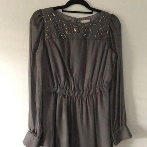 NWT Beaded Shoshanna Mini Dress
